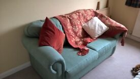 Two seater sofa bed in as new condition