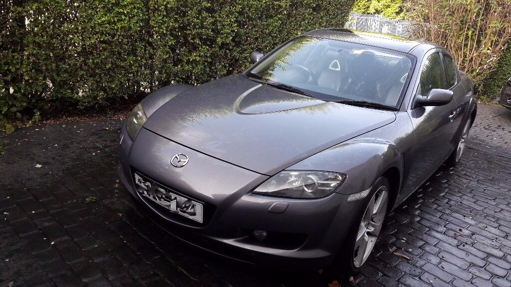 RX8 as parts; 4 barely used Pirelli tyres, nearly new cluth, leather seats