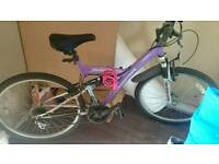 Purple female bike