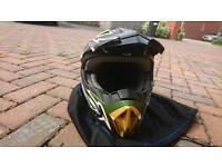 KBC mx dirt bike helmet