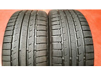 235 40 18 2 x tyres Continental ContiWinterContact