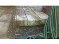 Free concrete slabs.