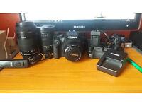 Canon EOS 500D With Plenty Of Extras.