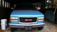 GMC 2500 4X4 FOR SALE