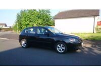 2007-BLACK MAZDA 3 SD-1.6 DIESEL-CHEAP!!!(not Ford,Volkswagen,Vauxhall,Nissan,Seat,Honda)