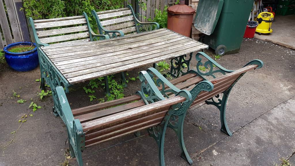 Garden Table Chairs And Bench In Newmilns East