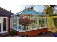 White UPVC Conservatory for sale