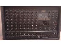 Peavy amp and mixer 800 watt