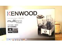 food processor kenwood FDM78BA complete and boxed