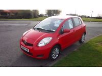 TOYOTA YARIS 1.0 TR VVT-I 2009,52,000mls,Alloys,F.S.H,Electric Windows,Remote Locking,£30 Road Tax