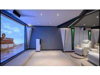 Custom ceilings, infinity, pop, vaulted