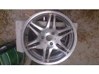 "Brabus ""Monoblock VI"" 17"" alloy wheels Used"