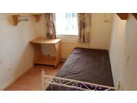 Double room available for single person