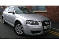 2006 Audi A3 1.9 TDI Sportback 5dr Hatchback, MOT TILL OCTOBER 2017 £2,495 p/x welcome