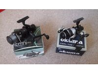 1 Okuma Excide EXR 40 and 1 Shakespeare OMNI RX40 both new
