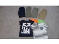 Boys clothing bundle age 8 - 9 (shorts all elasticated waist)collection inverurie