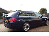 BMW 520d ESTATE DEEP SEA METALLIC BLUE 11 MONTHS MOT SUPERB CONDITION £135. TAX