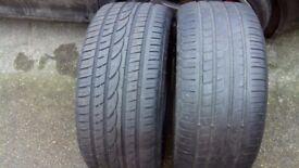 255 40 18 tyres x2