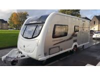 TOP OF THE RANGE SWIFT CONQUEROR 530 4 BERTH 2012,MOVER,AWNING,EXTRAS