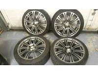 18 inch Bmw alloy wheels pcd 5x120