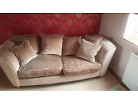 Sofa+ armchair