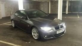 57 plate BMW 320d M sport coupe