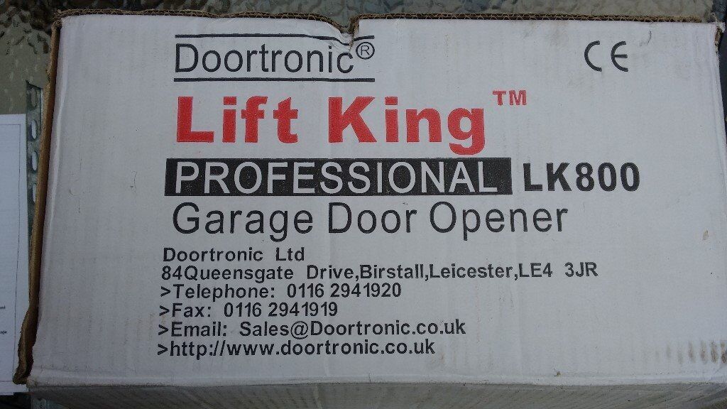 Electric Garage Door Opener Lift King Professional Lk800 Complete