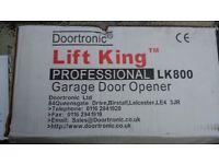Electric Garage Door Opener, Lift King Professional LK800 complete with Chamberlain door adapter.