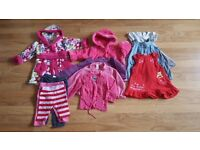 Baby girls clothes size 9-12 mths