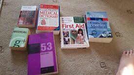 Nursing and healthcare study books