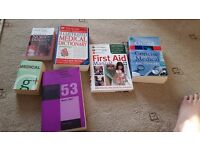 Nursing and healthcare study books