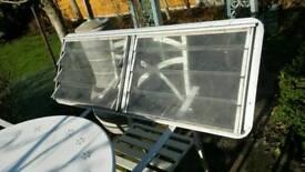 VW bay window vent window