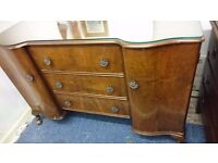 Stunning Ornate Vintage Dressing Table with Mirror