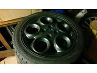 Alfa Romeo Teledials wheels also fit VW MK1 MK2 GOLF CADDY POLO LUPO