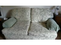 2/3 seater sofa good condition free