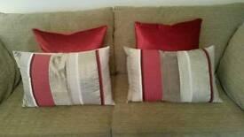Laura Ashley Cushions - as new!
