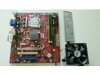 MSI N1996 Mobo with Intel Pentium Dual core E5300 and 4gb DDR2 Ram