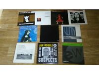 10 x jah wobble ollie marland holgar czukay vinyls LP's / 12 inch
