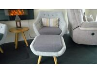Conservatory furniture set, mint condition, less than 1 year old, sofa, chair, buffet and side table