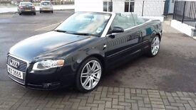 Immaculate audi a4 convertible - 2.0 tdi - 84k miles