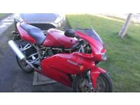 ducati 750ss low miles only 8600 full history