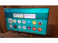 PANASONIC 50-inch Smart 4K UHD HDR LED TV-TX-50DX700,built in Wifi,Freeview HD,PLS read Description