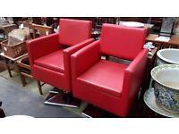 pair Dir Salon Chairs