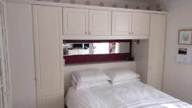 Schreiber fitted wardrobes & drawers/tallboy in vgc. Currently in room size 3.6 x 3.6 metres.