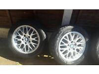 "Rare 16"" BMW wheels"