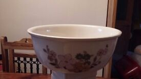 Large Royal Albert Bowl Cottage Garden Country Flowers
