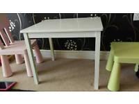 Ikea Kritter children's table white