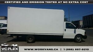 2014 GMC Savana G3500 16Ft V8 Gas - Unicell Box