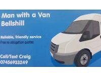 Man with a van Bellshill.