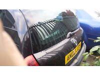 Clio Passenger Mirror 2003 Black